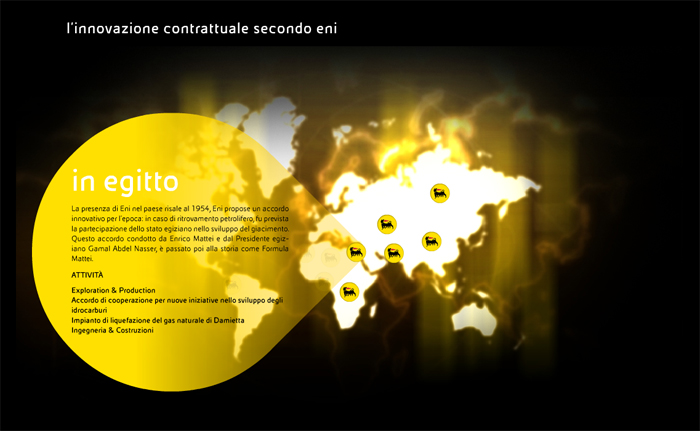 Eni Exhibition for 150 years of Italy's Unification