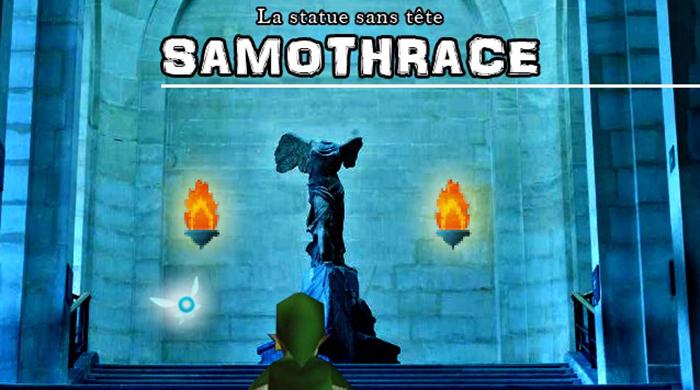 la statue san tete_ Samothrace